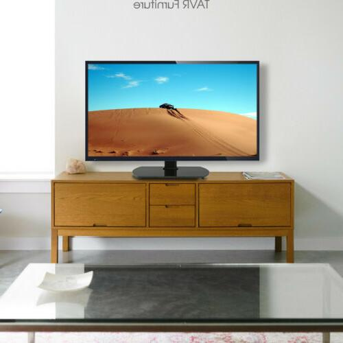 Universal Tabletop Stand with Swivel Mount 27-55 TVs