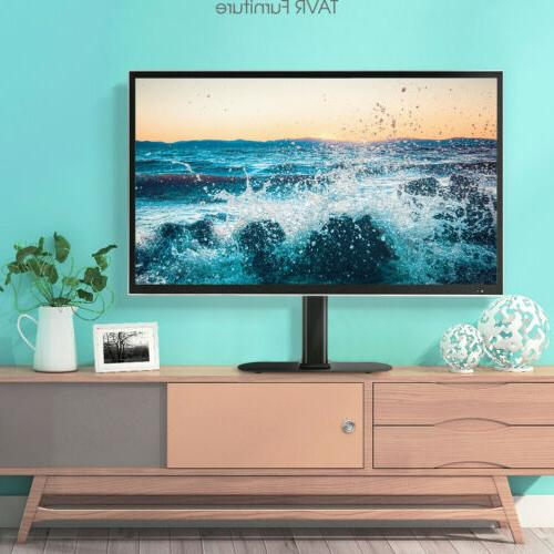 Universal Tabletop TV Stand with Swivel for 27-55