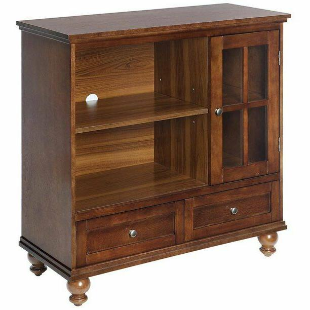 Transitional TV Storage Sophisticated