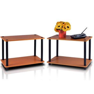 Turn-N-Tube No-Tools Table Plant Stand, of 2, Multiple Colors