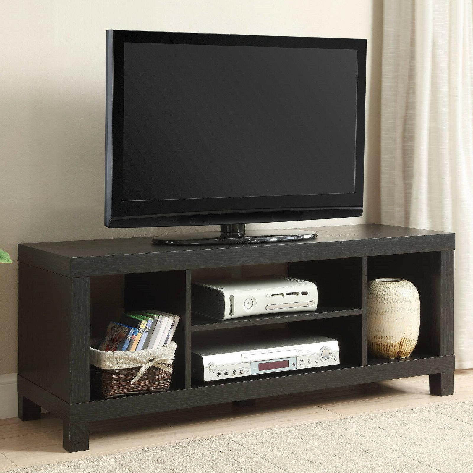 TV Console Inch Media Home Wood Storage