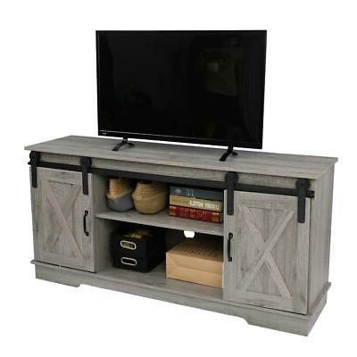 TV Stand To 65 Entertainment Furniture Media Cabinet