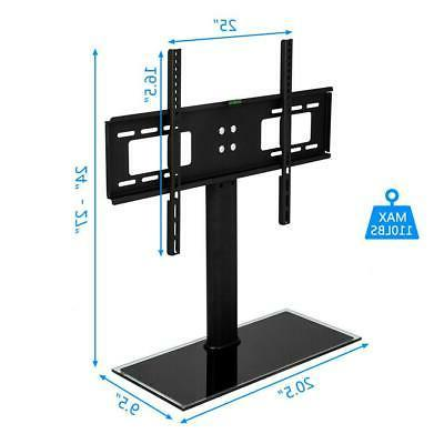 """TV Stand Base Swivel Mount And Adjustable Height for 32"""" - 5"""