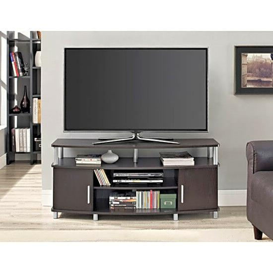 50 Inch TV Stands for Flat Screens Carson TV Stand Media Con