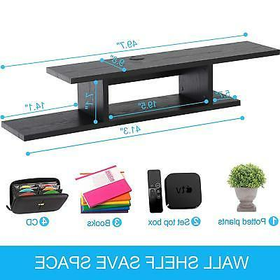 Wall Mount Media Entertainment Stand