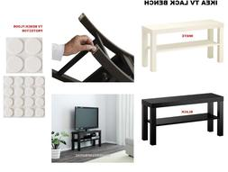 Ikea Lack TV Bench Black and White ,TV STAND FREE DISPATCH