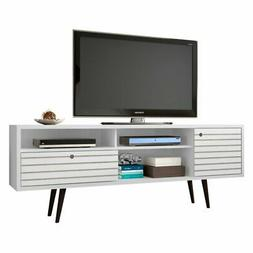 Manhattan Comfort Liberty Modern TV Stand with 4-Shelves and