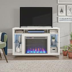 """Ameriwood Home Lumina Fireplace TV Stand for TVs up to 48"""","""