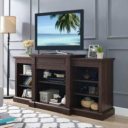 Home Source Industries Mae TV Stand with Optional Fireplace
