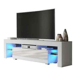 """Milano 160 Modern 63"""" TV Stand Matte Body High Gloss Fronts"""