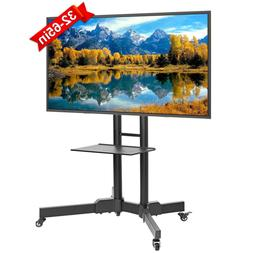ABCCANOPY Mobile TV Stands for Flat Screens Rolling TV Cart