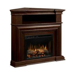 Dimplex Montgomery Media Console Electric Fireplace With Log