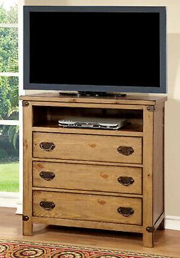 Night Stand Bedroom Bedside Chest Organizer Wooden Cabinet S