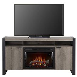 Pierre Fireplace Steeltown Realogs Media Console - 25 inch