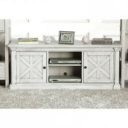 Furniture of America Randall 2 Door TV Stand - Antique White