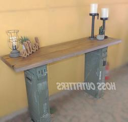 Re purposed Ammo Can Desk- Ammo Box TV Stand- Industrial Ent