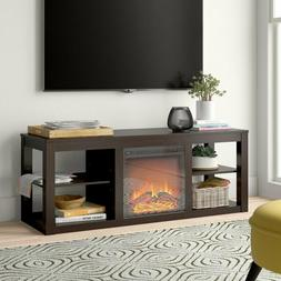 Rickard TV Stand for TVs up to 65 inches with Fireplace.