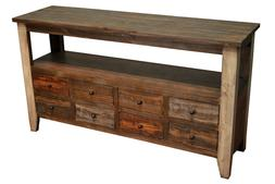 Crafters and Weavers Bayview 8 Drawer TV Stand