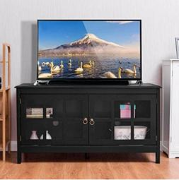 Rustic TV Stand Living Room with Drawers 50 Inch Farmhouse C