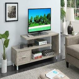 """Convenience Concepts Seal II 60"""" TV Stand 2 Color Finish BRA"""