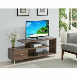 Convenience Concepts Seal II Cappuccino 60-Inch TV Stand - 1