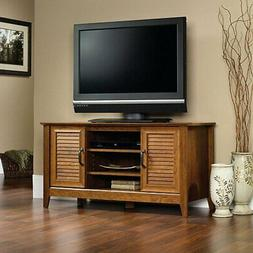 Sauder Select Panel TV Stand - Milled Cherry