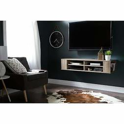 South Shore City Life Wall Mounted Media Console - 49.5''