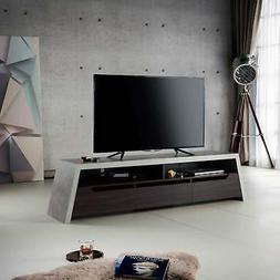 Stammond Industrial 71-inch Cement TV Stand by FOA Cement