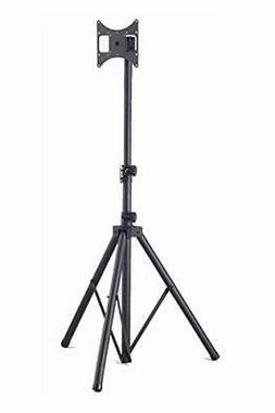"""Steel Portable TV Tripod Stand for up to 37"""" Flat Panel TV,"""