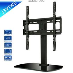 Table top TV Stand with Swivel Mount for 27''-55'' LED LCD F