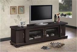 TV Entertainment Center Unit Stand Storage Cabinet Wood Cons