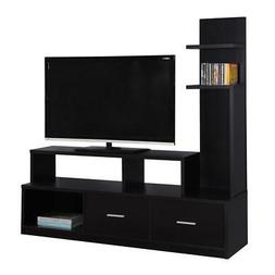 """Monarch Specialities Tv Stand - 60""""L / Cappuccino With A Dis"""