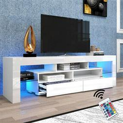 TV Stand Cabinet Unit Console High Gloss Modern with Storage