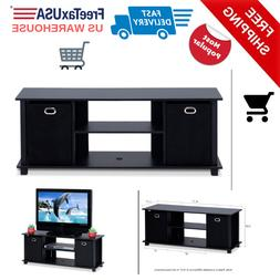 TV Stand Console Media Cabinet Table Entertainment Center Wo