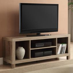 TV STAND CONSOLE Table Entertainment Center 55 Inch Media St