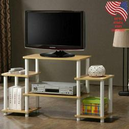 TV stand Entertainment Center Media Top Quality Easy Setup T