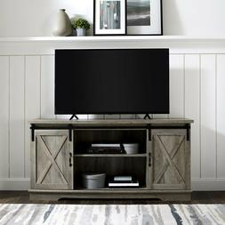 "TV Stand Large Entertainment Center LED TV Up to 64"" Sliding"