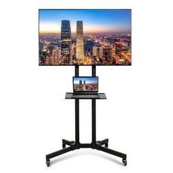 TV Stand Mobile Cart Mount with Storage Shelf for 37 40 42 4