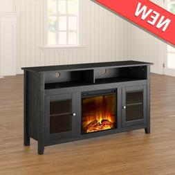 """TV Stand with Electric Fireplace 65"""" TV Stand with Fireplace"""