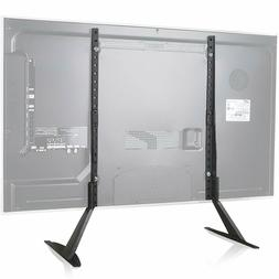 WALI Universal TV Stand Table Top for Most 22 to 65 inch LCD