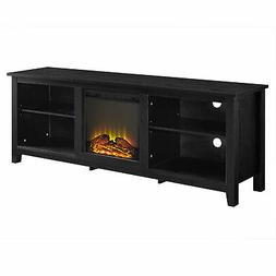 """Delacora WE-BD70FP18  70"""" Wide Laminate and Wood TV Stand wi"""